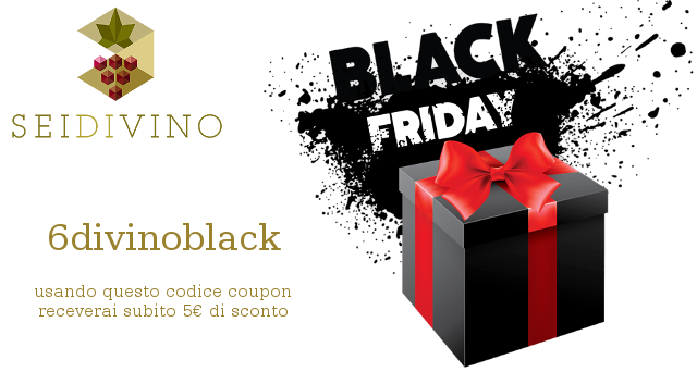 Black Friday vino in baginbox 6divinoblack
